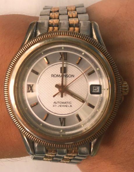 Наручний годинник Romanson Swiss 21 jewels Швейцарские часы