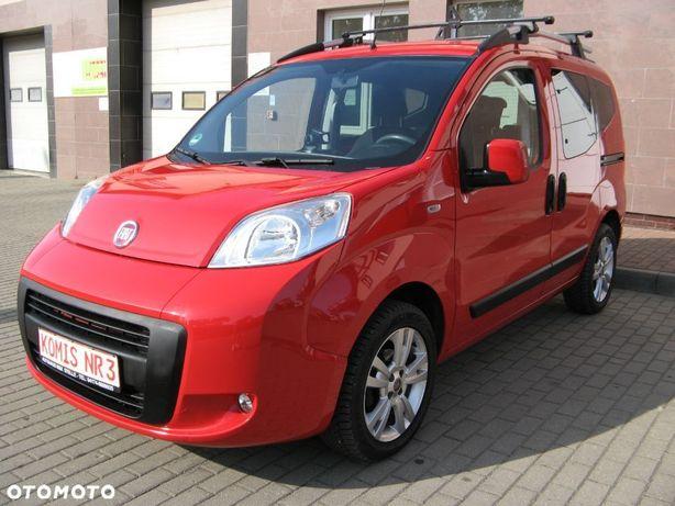 Fiat Qubo 1.3 Diesel MultiJet 75KM *Zadbany*Alu*Klima *Czujniki parkowania*2014r