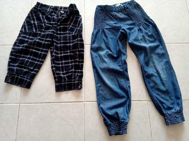 Spodnie dziewczęce 134