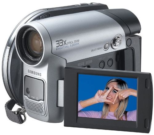 Maquina camera video samsung