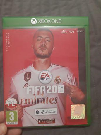 Gra Fifa 20 na Xbox One S