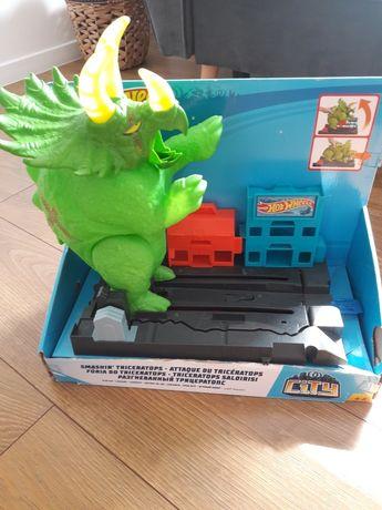 Zestaw Hot Wheels City Triceratops