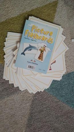 Karty obrazkowe Picture flashcards Express Publishing podstawowe słowa