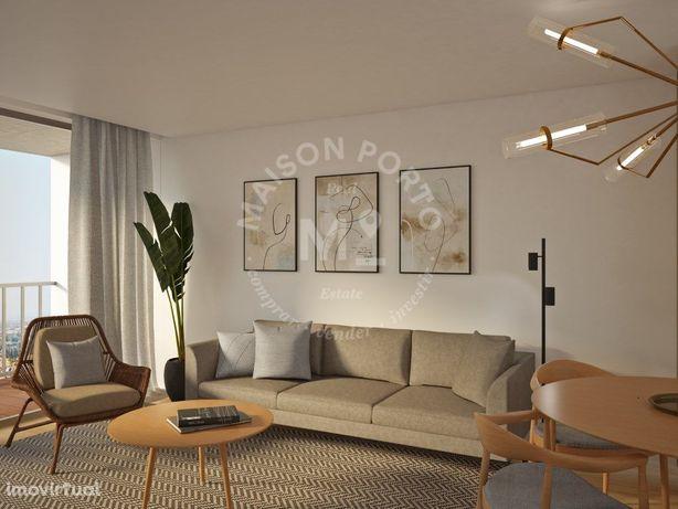 Apartamento T1 com Varanda em Condomínio Privado com Pisc...