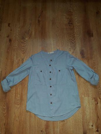Bluzka koszulowa XXS sinsay