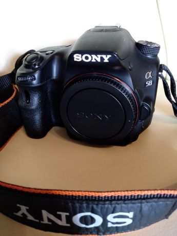 Aparat Sony Alpha58 a58 SLT + Sony 18-55f3,5-5,6super stan
