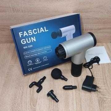 ТОП ПРОДАЖ!!! Массажер портативный ручной для тела Fascial Gun HG320