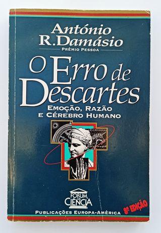 Livro: O Erro de Descartes - António Damásio
