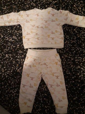 Zestaw paka ubrania dla dziewczynki 80/86 H&M Reserved C&A