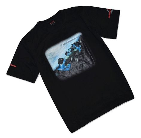 HONDA Racing Team L/XL nowa czarna koszulka t-shirt
