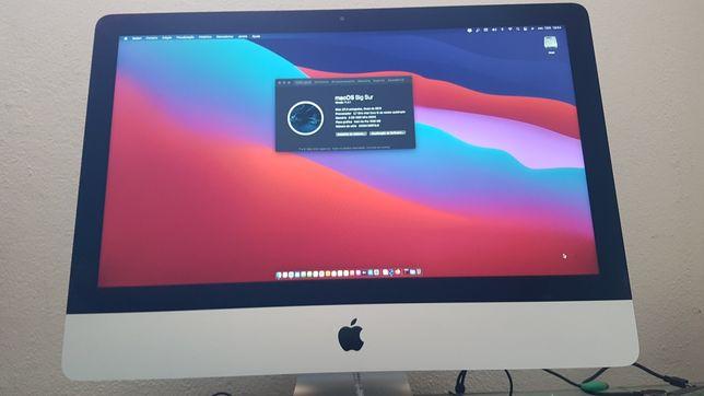 iMac 21' late 2013 (ótimo estado com ssd e Sistema Bigsur)