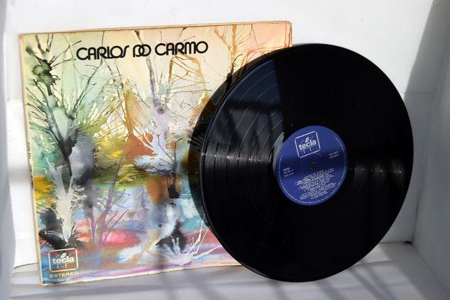 Vinil Carlos do Carmo Autografado em 1973