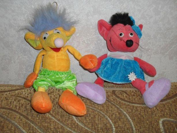 29 см НОВЫЙ набор мягких игрушек мыша мальчик и девочка мышка крыса