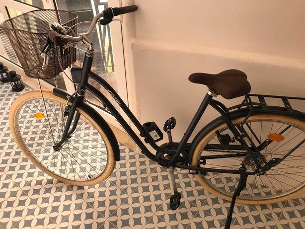 NEW Bicicleta de cidade + Cadeado + Capacete > Btwin Decathlon
