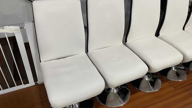Cadeiras jantar usadas