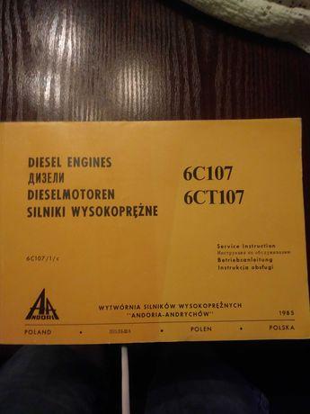 Instrukcja obslugi silnikow wysokopreznych ANDORIA