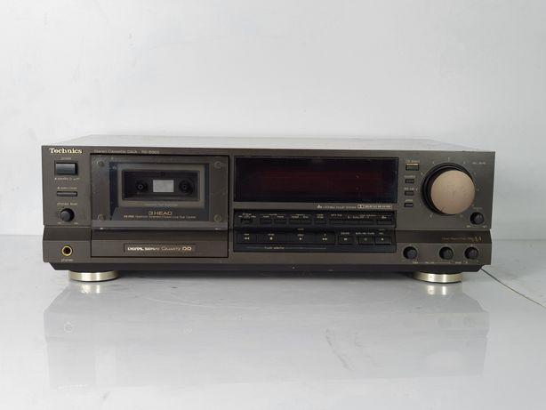 Magnetofon Technics RS B965 ŁADNY Stan SPRAWNY jasny wyświetlacz