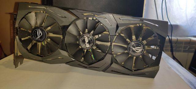 Видеокарта ASUS STRIX GeForce GTX 1080 Ti 11Gb / 1080Ti /