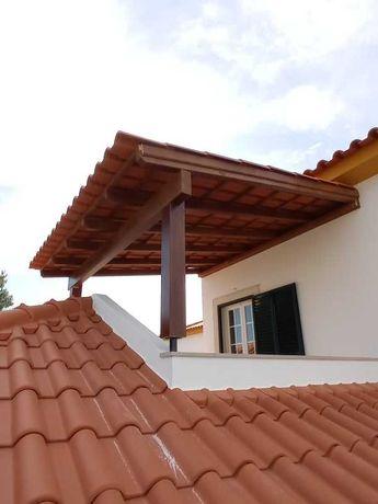 telheiros em madeira - Madeira&Conforto