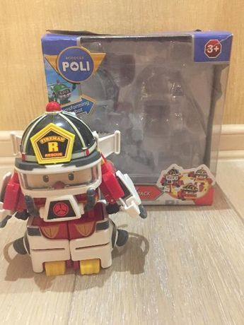 игрушка Рой-трансформер из одноименного мультфильма
