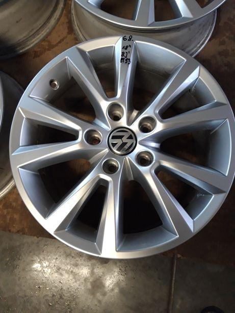 68. Felgi Aluminiowe R 18 Volkswagen TOUAREG AUDI Q7 5x130 BARDZO ŁADN