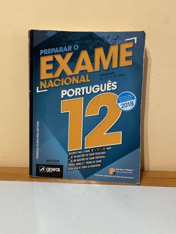 Livro de preparacao para exame nacional de Portugues 12- 2018