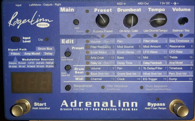 Adrenalinn grove box
