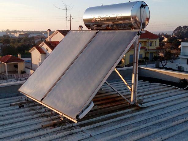 Dois Painéis solares