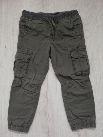 Bojówki, spodnie, ocieplane, 98