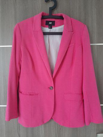 H&M marynarka dresowa różowa, fuksja rozm. 42