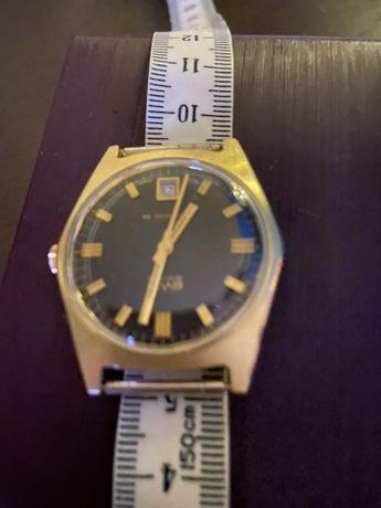Часы золотые-BWC. . Швейцария. Автомат,