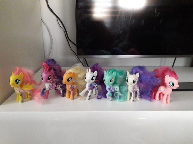 My Little pony movie 7 sztuk kucyki figurki książeczki