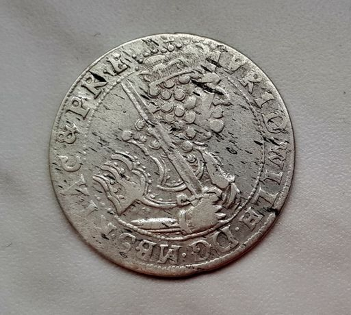 408) PRUSY KSIĄŻĘCE srebro - Ort - 1684 r.