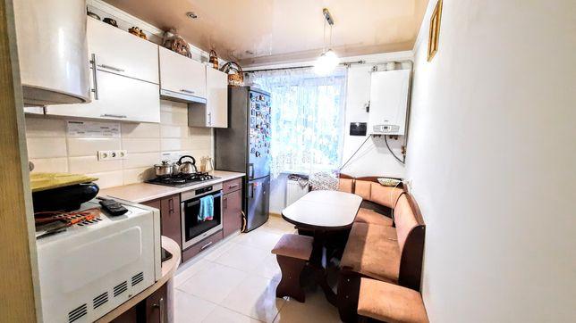 Продам 2-кімнатну квартиру, з євроремонтом, автономне газове опалення,