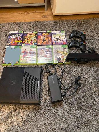Sprzedam Xbox 360 250GB, Kinect  + wiele gier