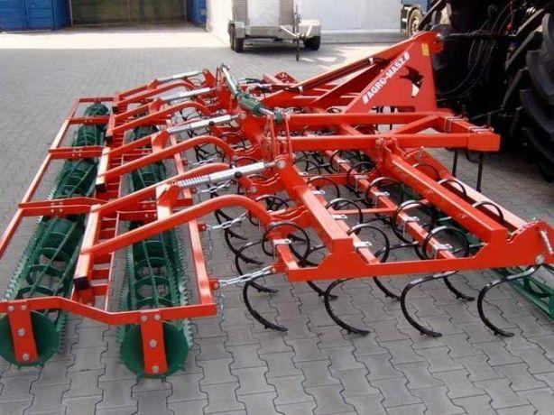Agregat Uprawowy Agro-Masz AU 3,6 AU 4,2m Składany Hydraulicznie