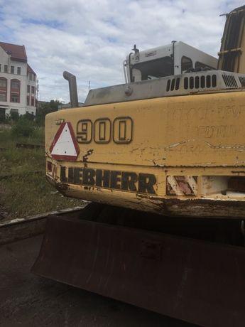 Экскаватор Liebherr 900, 902, по запчастям