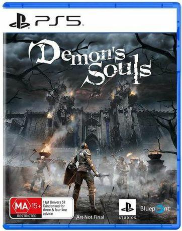 Vendo jogo Demons Souls ps5 novo