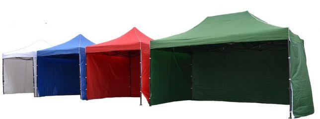 Nowy WZMOCNIONY namiot pawilon ogrodowy ekspresowy 35kg