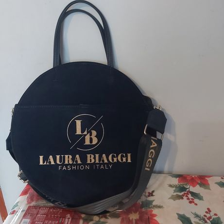 Okragla torebka Laura Biaggi