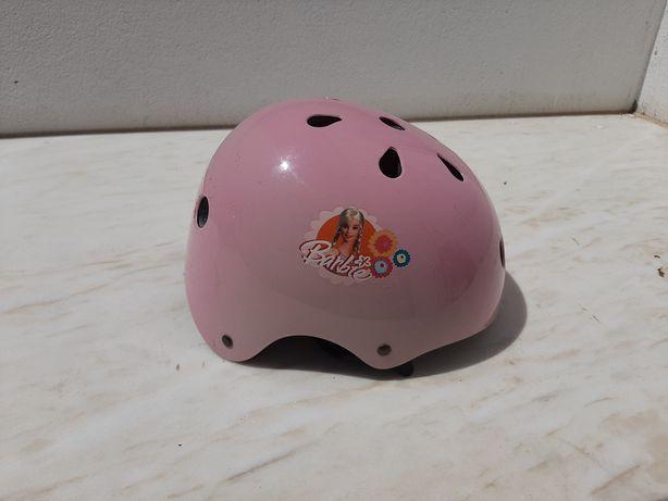 Capacete para bicicleta Barbie