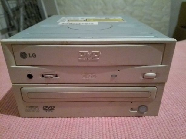 2x Leitor de DVD Drive para Computador Fixo