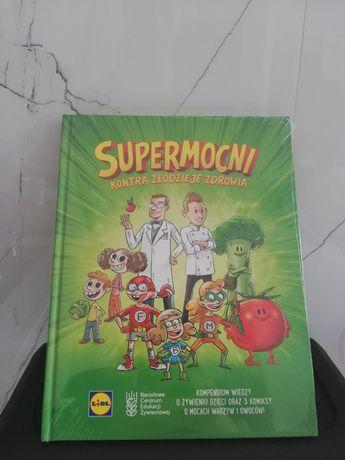 Książka-komiks edukacyjna o nawykach żywieniowych nowa w folii