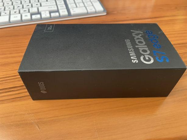 Смартфон Samsung Galaxy S7 Edge 32GB Чорний (4/32gb) ідеал