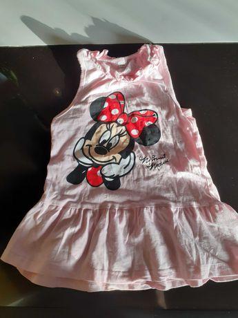 Sukienka bluzeczka myszka minnie