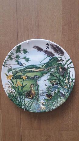 Wedgwood porcelana angielska talerz ścienny obraz