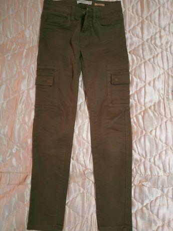 Spodnie khaki rozm. S