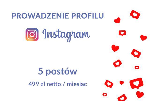Prowadzenie profilu na Instagram (Social Media Marketing)