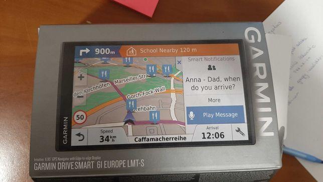 Nawigacja GARMIN DriveSmart 61 LMT-S