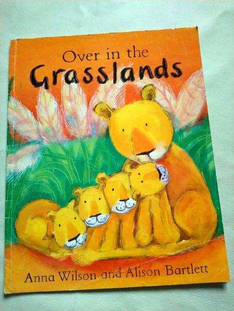 Дитяча книга Over in the Grassland